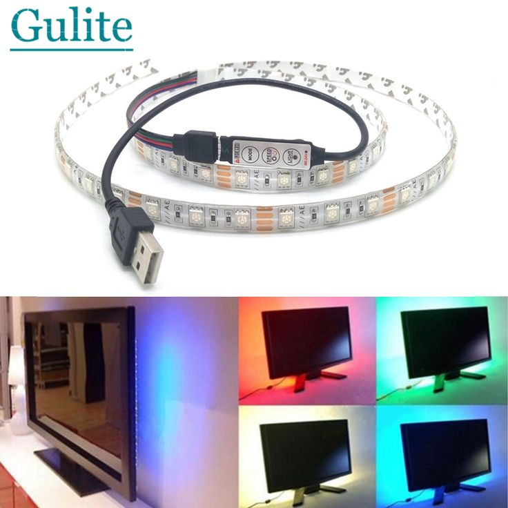 Aliexpress.com : Buy USB LED Strip 5050 3528 Dustproof Waterproof Tape DC5V TV Background Lighting DIY Decorative Lamp RGB/Warm White/White from Reliable led par 64 light suppliers on goodlights