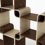 Smartsquare – Etagères en cube pour bibliothèque personnalisable - Shoji