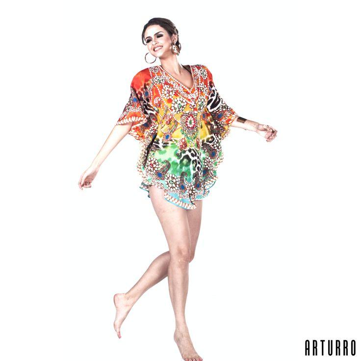 #arturroeggo #tunic #resortwear #blouse #womanfashion #womansclothing #kaftan #shortkaftan #printed