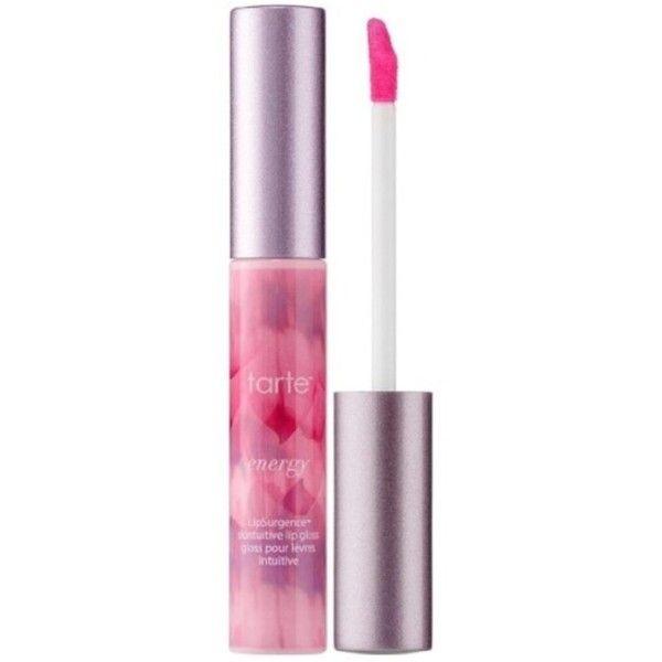 Tarte Tarte Lipsurgence Skintuitive Lip Gloss, Energy | Bluefly.Com (5.744 KWD) ❤ liked on Polyvore featuring beauty products, makeup, lip makeup, lip gloss, pink, lip gloss makeup, shiny lip gloss, tarte lip gloss and glossy lip gloss