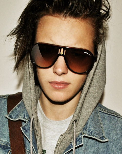 Erika Linder. love how she can transform her look.
