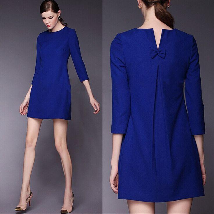 Mejores 103 imágenes de Vestidos Azules en Pinterest | Vestidos ...
