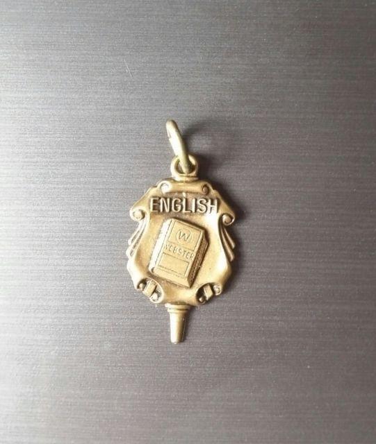 Vintage Collectible Charm, High School, Graduation, English, Jostens | eBay