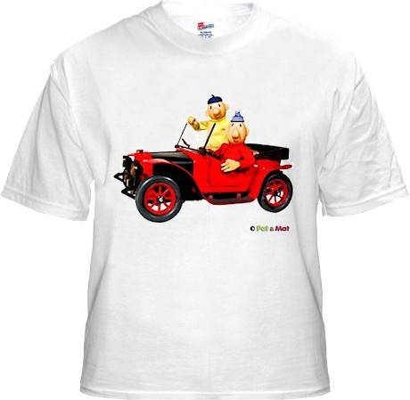 Buurman en Buurman T-shirt WIT AUTO Kids