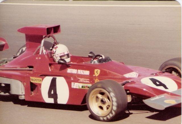 1973 Arturo Merzario - Scuderia Ferrari 312B3