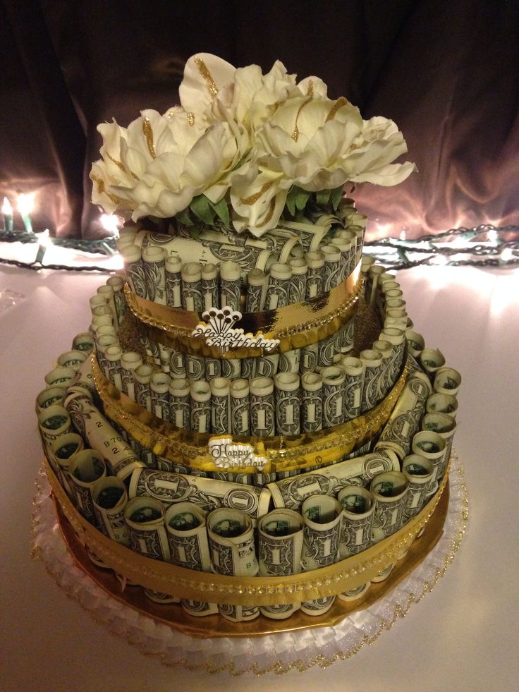 96 Best Money Cakes Images On Pinterest Money Cake