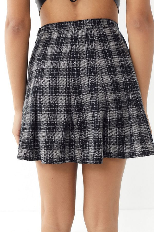 bb5381c2c2 Vintage Plaid Pleated Mini Skirt in 2019 | clothes | Plaid pleated ...