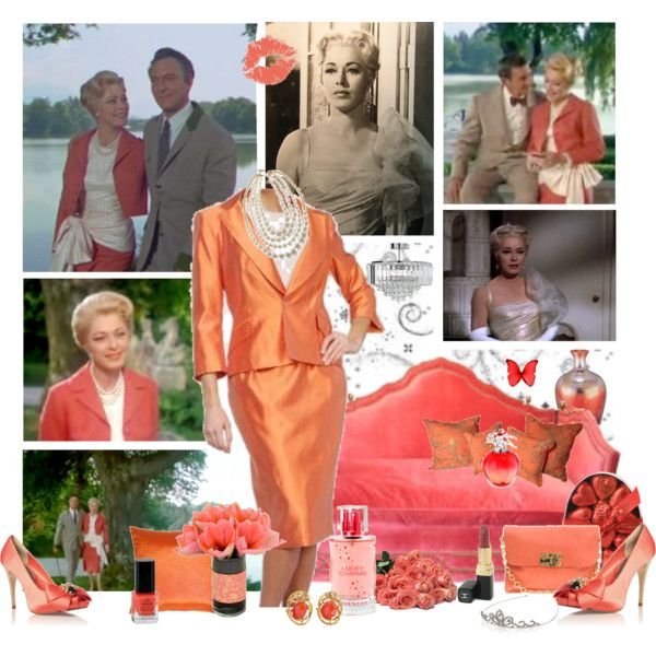 Baroness Schrader, created by di-lestrade on Polyvore.  Very nicely done collage!