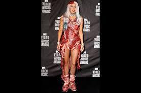 ladygaga meat dress