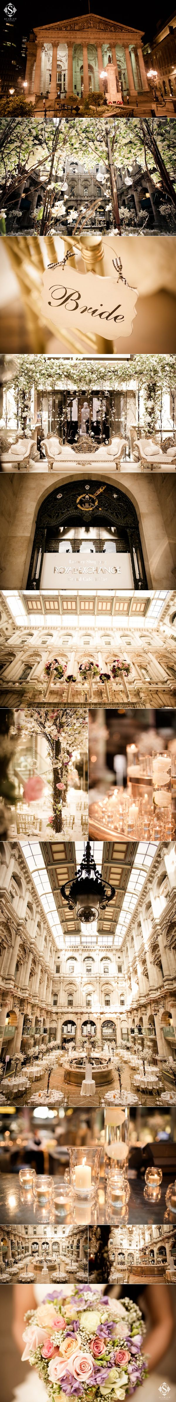 Vintage Royal Exchange London Asian Wedding Ceremony by Scarlet Events