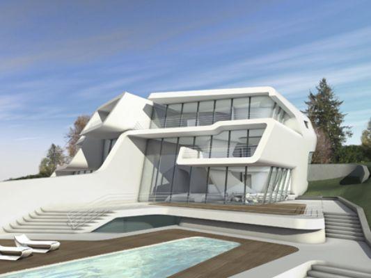 Zaha Hadid House Design  ... Villas Design by Zaha Hadid Architects ...