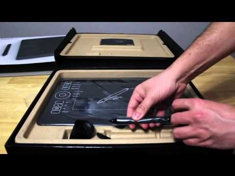 Unboxing Wacom Intuos 5 Touch