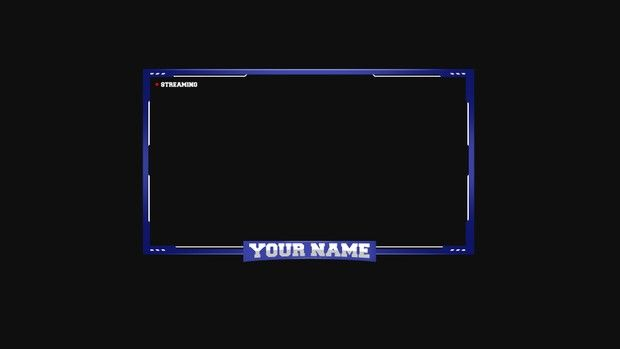 100 Free Twitch Facecam Overlay Template Twitch Overlay Template Overlays Templates Frame Template