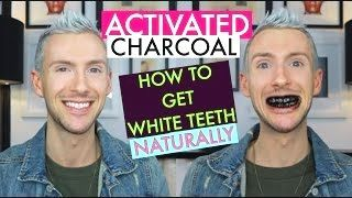 charcoal and baking soda teeth whitening #beauty #…