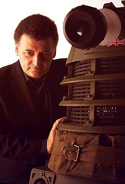 Here we have a creature of pure evil responsible for ruining millions of lives. And a dalek.