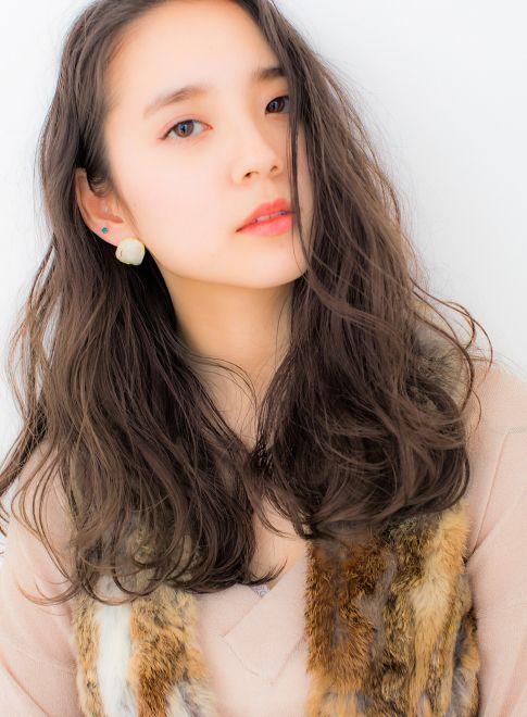 クリアグレージュ×ルーズカールセミロング【COIFF1RST 原宿】≪ #longhair #longstyle #longhairstyle #hairstyle ・ロング・ヘアスタイル・髪型・髪形≫  http://beautynavi.woman.excite.co.jp/style/detail/52906?pint