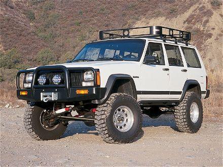 All Things Jeep - Jeep Cherokee XJ (1984-2001)