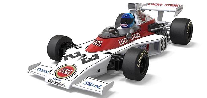 McLaren M23 / Preview / SLOT RACING COMPANY Slot Racing Company  ha desvelado unas imágenes del proceso de producción de su próximo F1 Clásico, el McLaren M23 de 1974. La primera decoración escogida para este modelo de slot a escala 1:32 corresponde a la que pilotó Dave Charlton en...  http://www.slotcar-today.com/en/notices/2017/04/mclaren-m23-preview-slot-racing-company-6344.php   Slotcar Magazin http://slotnerd.de/ #car