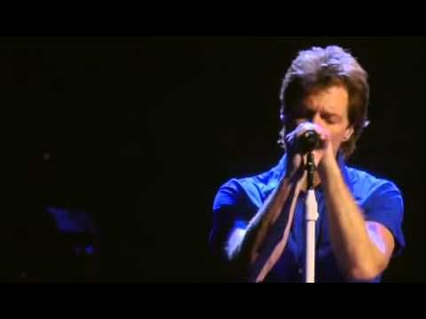 Bon Jovi - Hallelujah (Live from Madison Square Garden) 2008 - I could just turn up the music and block out the world for hours while listening to my Bon Jovi playlist ♥