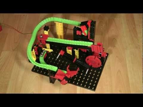 fischertechnik Kugelbahn Version 5 - Marble Machine - YouTube