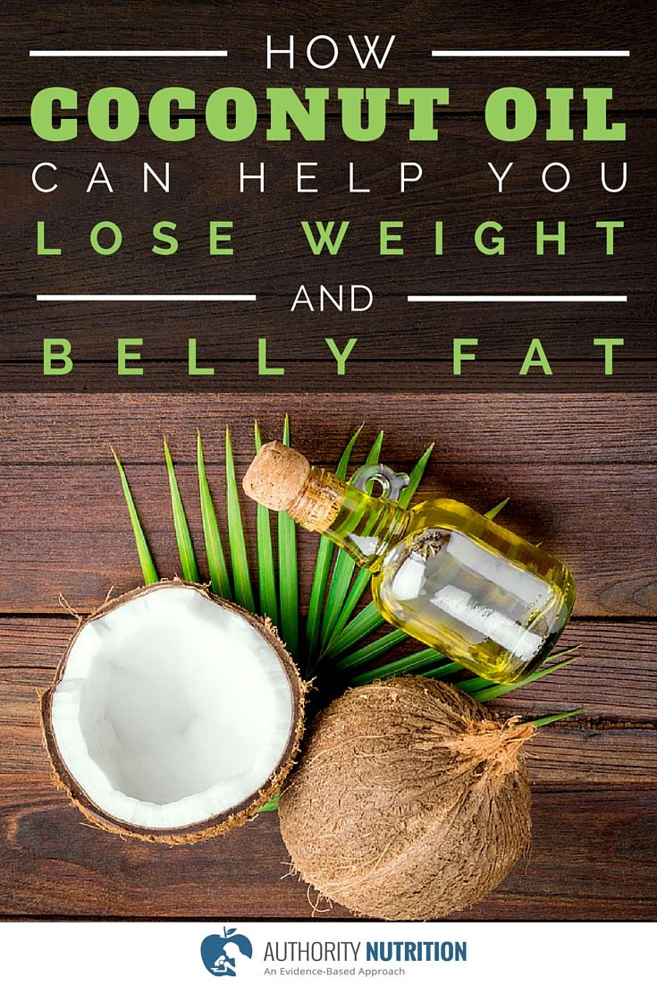 Coconut oil contains unique fatty acids that can boost the metabolic rate, reduce appetite and help you lose weight without counting calories. Learn more here: http://authoritynutrition.com/coconut-oil-and-weight-loss/