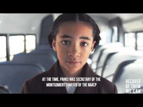 Celebrating Black History Month: Because of Rosa Parks....We Can! - YouTube