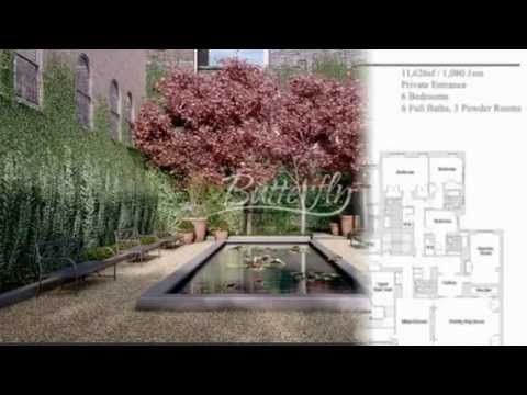 Butterfly Residential Luxury Townhouses for Sale in Park Avenue, New York