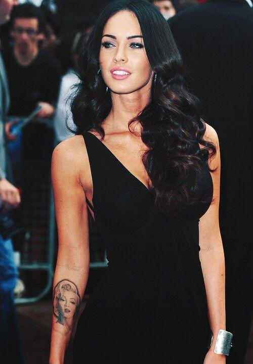 Megan Fox.. Hair, makeup, eyebrows..love love love