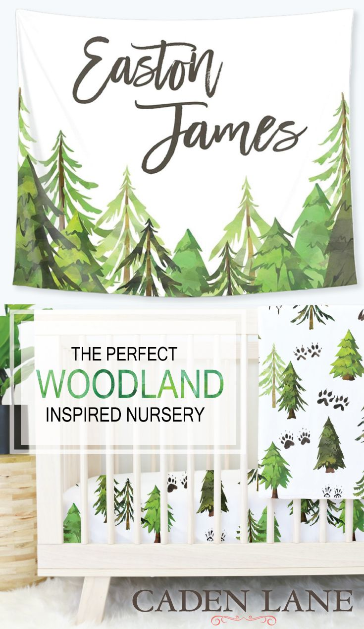 The perfect woodland crib bedding I've been searching for!