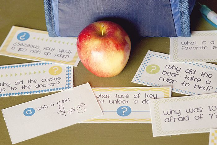 lunch jokes for the kids school lunches! my kids would ADORE these!