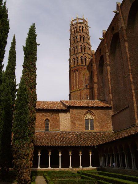 Le couvent et le clocher des Jacobins (Toulouse)