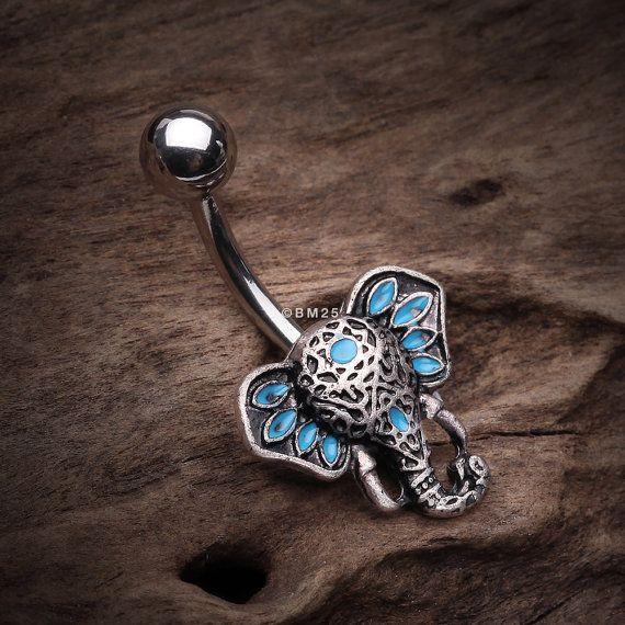 Hey, diesen tollen Etsy-Artikel fand ich bei https://www.etsy.com/de/listing/504194827/ganesha-elefant-kopf-bauchnabel-ring