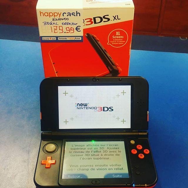 Nintendo 3ds Xl Orange Fournie Avec Boite Et Chargeur Dispo Happycashlannion Bonsplans Bonnesaffaires Happygam Game Boy Advance Sp Gaming Products Gameboy