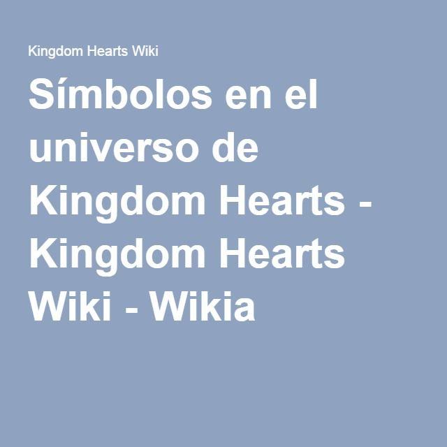 Símbolos en el universo de Kingdom Hearts - Kingdom Hearts Wiki - Wikia
