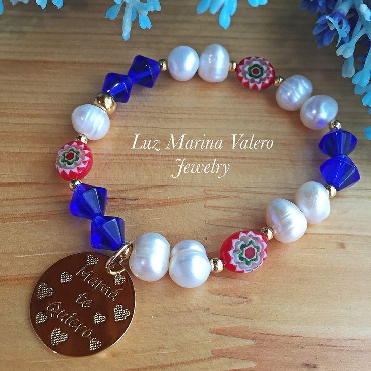 Pulsera para mamás by Luz Marina Valero