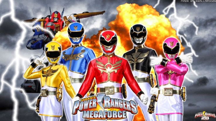The X Database: Power Rangers Super Megaforce My Version Or Rather My Fanfiction Of The Show