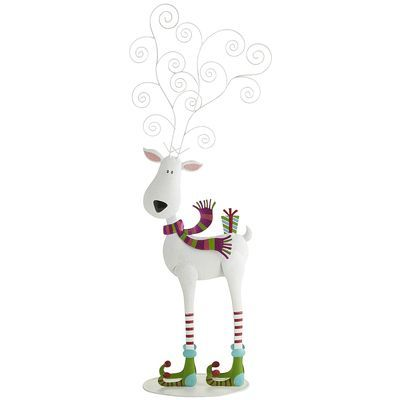 Jolly Reindeer Photoholder... Love this one!! Only I'm going to use him to hold all our Christmas cards!!