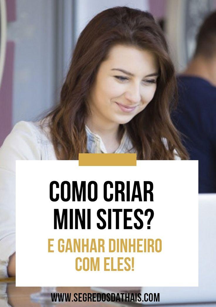 Aprenda a criar mini sites e faturar muito dinheiro na internet!