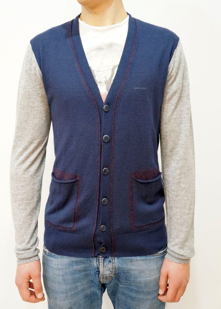 Sweterek Armani Jeans dostępny na www.brandroom.pl