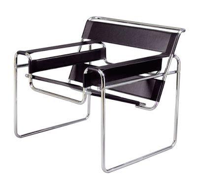 Cadeira Wassily - Marcel Breuer estava andando de bicicleta e, ao observar o guidão feito em tubos de aço, percebeu que poderia molda-lo em diversas formas. Aos 22 anos e em 1925 criou a Cadeira Wassily que encanta até hoje pelo seu desenho revolucionário que marcou o século XX. Clique na imagem e acompanhe tendências e dicas de decoração!