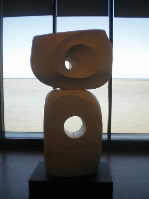 Barbara Hepworth 'Two Piece Marble' (Ragentira), 1969, Milwaukee Museum of Art, Milwaukee, Wisconsin by hanneorla, via Flickr