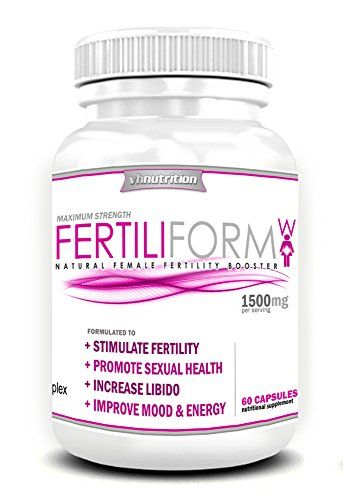 Fertiliform-W: Fertility Pills and Blend Formula For Women | Conception and Pregnancy Complex