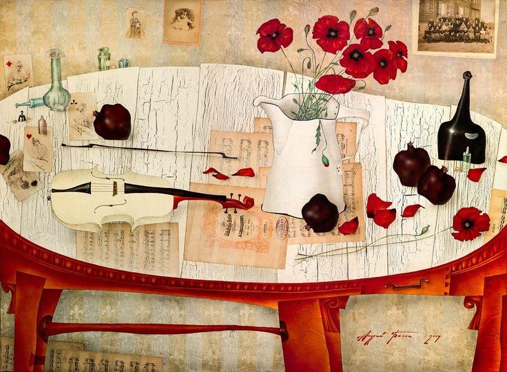 А. Белле, «Любовь к четырем дамам»