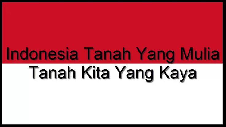 Indoneia Raya Tiga Stanza