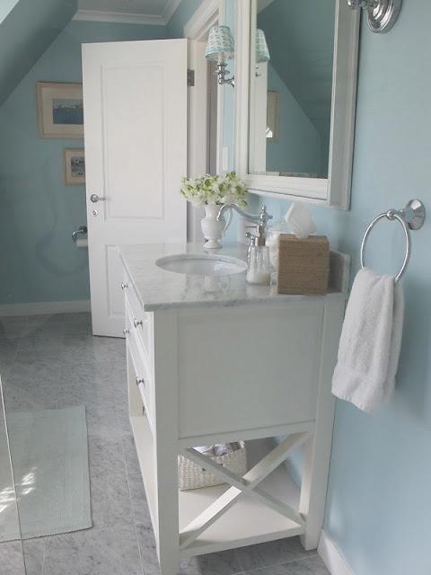 GEORGICA POND INTERIORS, Our Home, Kids Bathroom, Aqua, Marble, Subway Tiles