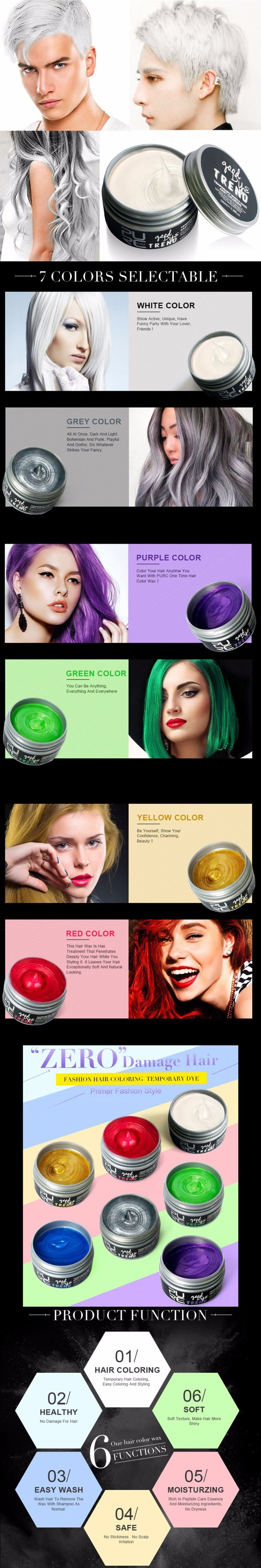 The 25 best temporary red hair dye ideas on pinterest how to top quality color hair dye disposable hair wax white purple red blue grey green golden hair solutioingenieria Choice Image