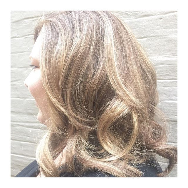 WAVES FOR DAY • the lovely danika!! 🎨Colour • Senior Technician @david_toniandguyperth 🙎🏼Styling • Apprentice @verityh_toniandguyperth
