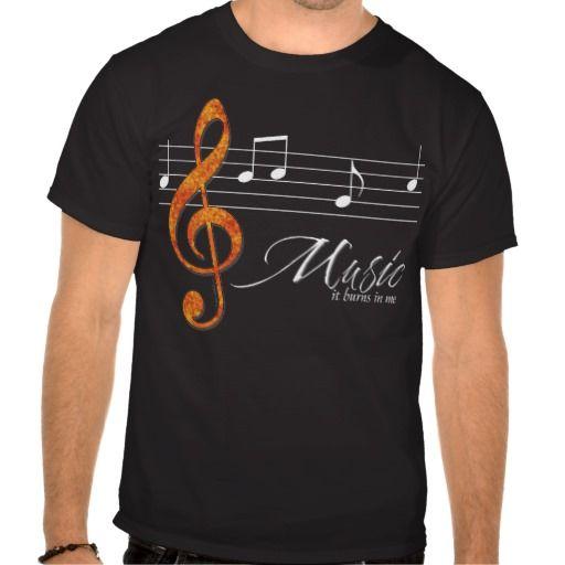 Burning Music T Shirts #music #tshirt