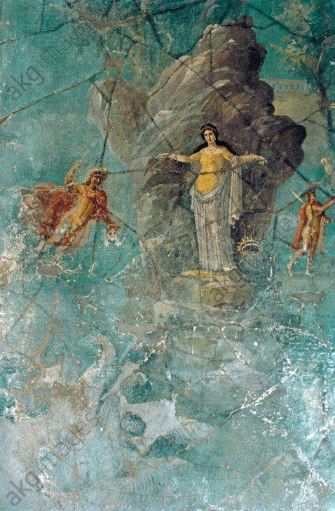 Pompeii, Casa del Sacerdos Amandus,Mural                              …