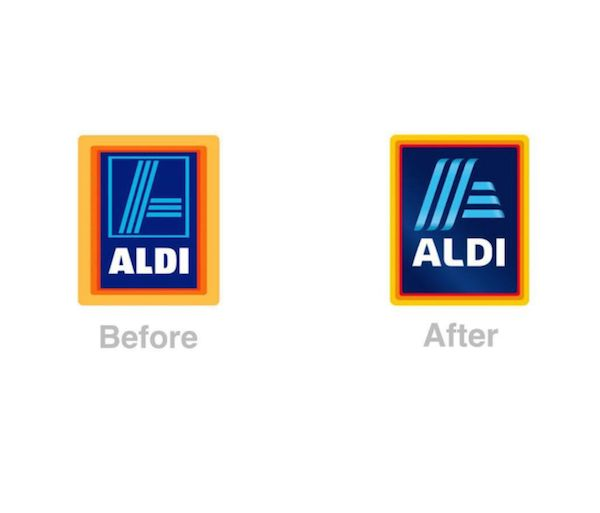 Aldis Logo Redesign Has Designers Commenting About Its Gradient And Spacing